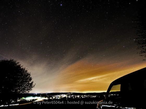 Swift Allgrip bei Nacht im Feld
