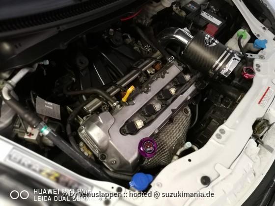Mein Motorraum :D