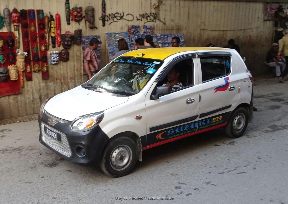 Andere Länder - andere Autos! Suzuki-Schappschüsse aus Nepal