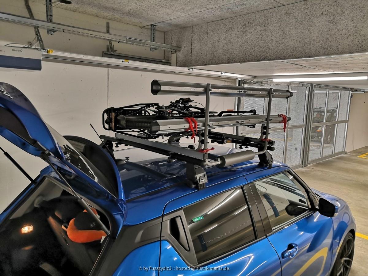 Dachlift/Fahrradträger