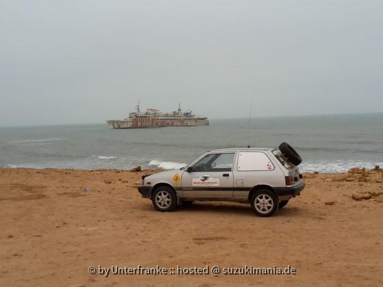Rallye Swift nahe Tarfaya,  Marokko