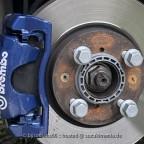 Blaue Bremsen