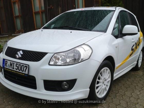 Mein SX4 WRC