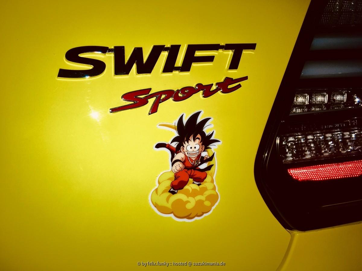 Swift Sport Son-Goku Jindujun Edition