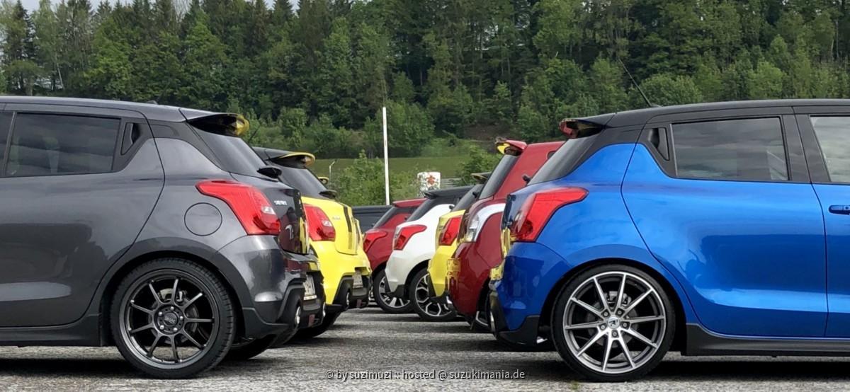 Suzuki Cup VIP Parkplatz