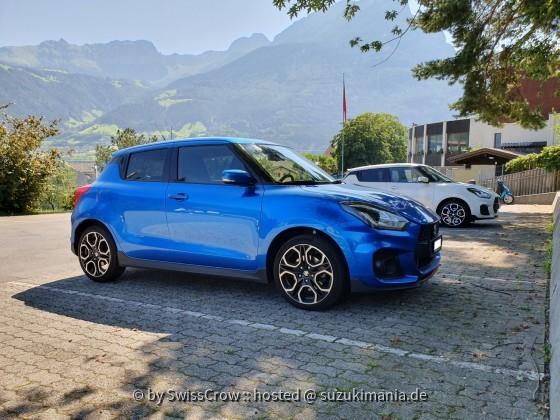 Swift Sport blue