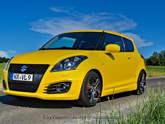 Suzuki Swift Sport Yellow Edition 16/99